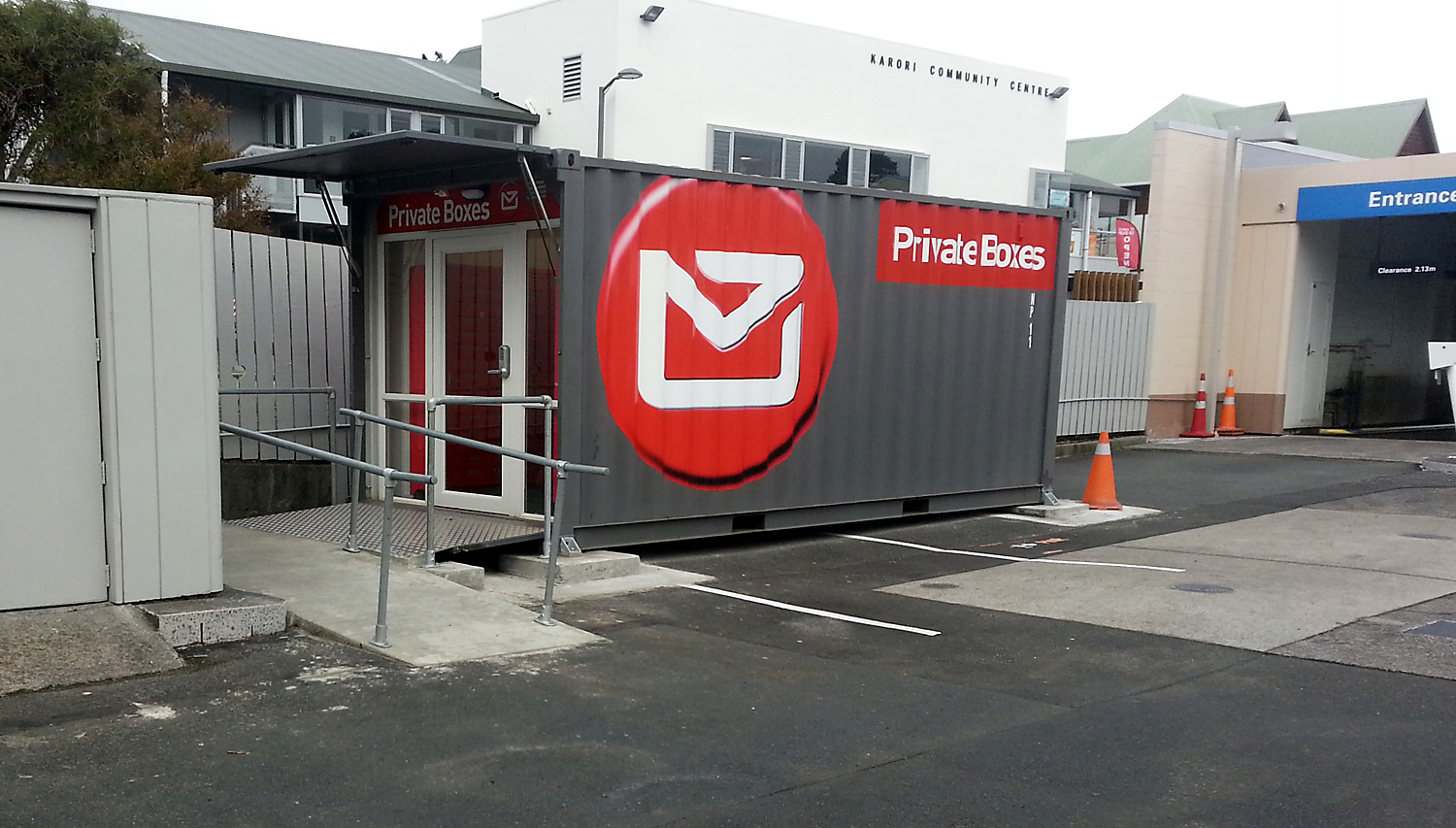 NZ_Post_Mobil_Karori_container